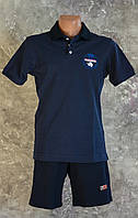 "Мужская футболка ""Napapijri Polo""+Трикотажные шорты ""Napapijri"""