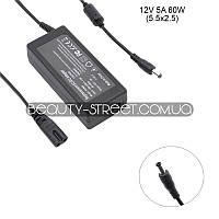 Блок питания для LCD монитора 12V 5A 60W 5.5x2.5 (B) оптом от 50$