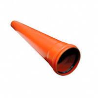 Трубы ПВХ для наружной канализации 110х2,2х1000