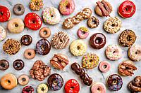 Фотообои Аппетитные пончики