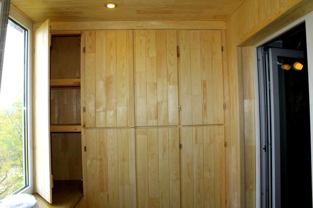 внутренняя обшивка деревянной вагонкой сосна
