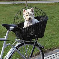 Корзина велосипедная для собак до 12кг/на багажник