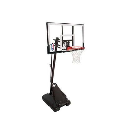 """Баскетбольная стойка (мобильная) Spalding Gold 48"""" Rectangle Acrylic, фото 2"""