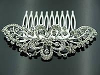 Женские украшения на голову. Свадебные гребешки в волосы 452