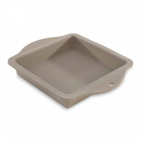 Форма для выпечки квадратная, силикон, фото 2