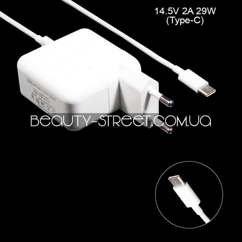 Блок живлення для ноутбука Apple MacBook 14.5 V 2A 29W USB Type-C оптом від 3шт