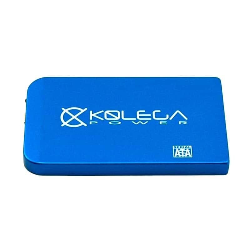 """Зовнішня кишеня для HDD SATA 2.5"""" USB 2.0 (без болтів) Kolega-Power (Синій) оптом від 3шт"""