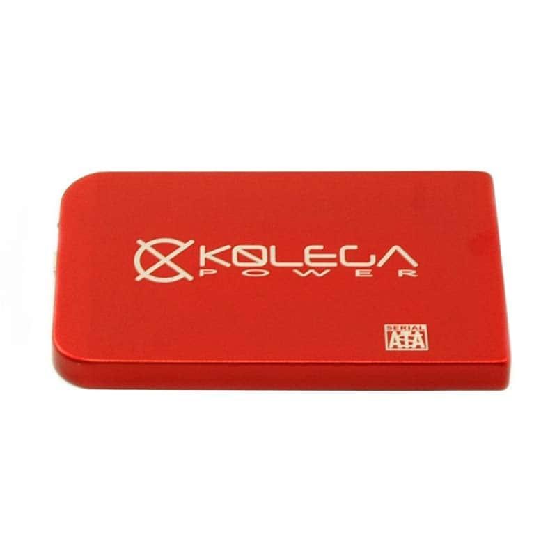 """Внешний карман для HDD SATA 2.5"""" USB 2.0 (без болтов) Kolega-Power (Красный) оптом от 3шт"""