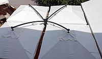"""Уличные консольные зонты """"QUADRO XL"""" 6х6м для летних открытых площадок"""
