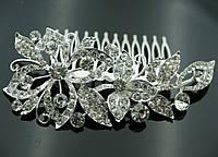 Большие и длинные свадебные гребешки для волос 455