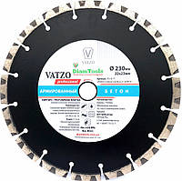 Алмазный отрезной диск Vatzo 230x22.2 Armbeton (755-55-77)