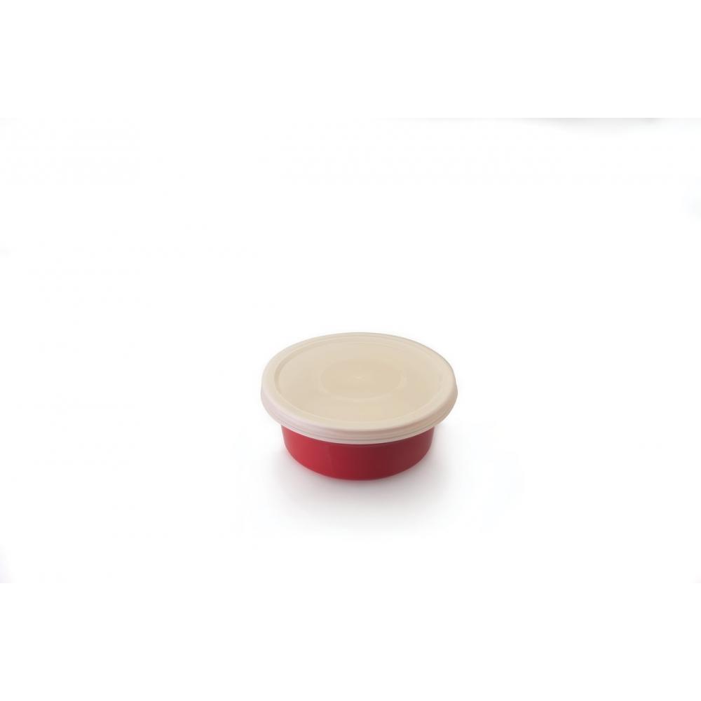 Набор круглых форм для выпечки Red Line с пластиковыми крышками, диам. 14,5