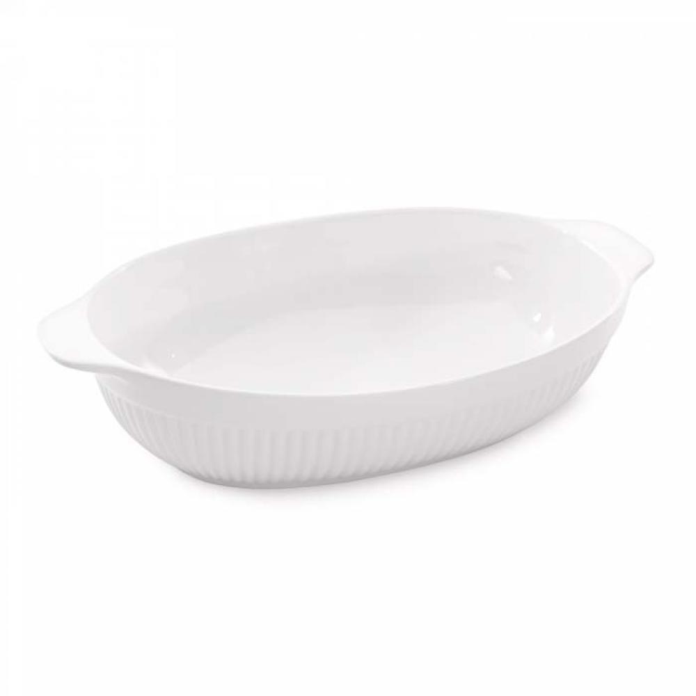 Форма для выпечки Bianco овальная, 35 х 22 х 8 см