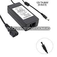 Блок питания для LCD монитора 12V 7А 84W 5.5x2.5 (B) оптом от 50$
