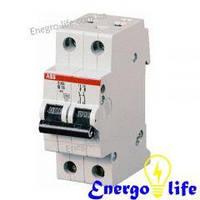 ABB SH202-B6, автоматический выключатель, предотвращающий скачки напряжения в сети (2CDS212001R0065)