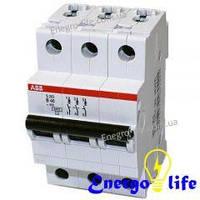 ABB SH203-B6, автоматический выключатель, предотвращающий скачки напряжения в сети (2CDS213001R0065)