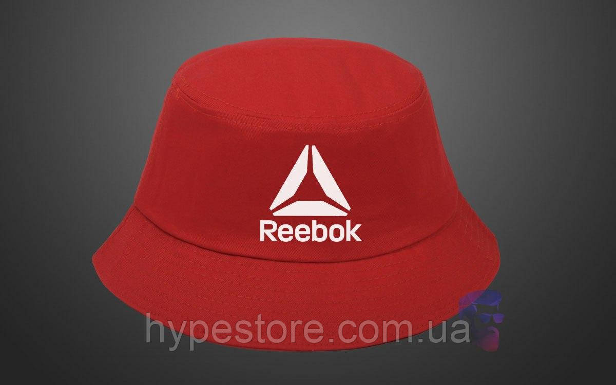 Панама, кепка Reebok (красная), Реплика
