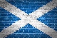 Фотообои Шотландский флаг