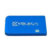 """Внешний карман для HDD SATA 2.5"""" USB 2.0 (без болтов) Kolega-Power (Синий) оптом от 20шт"""