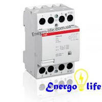 Модульный контактор АВВ ESB 63-40-230AC/DC для обеспечения безопасного управления электрическим оборудованием