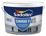 SANDO F 10л - фасадная и цокольная краска., фото 2
