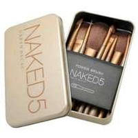 Кисти для макияжа Naked 5 ( 7 шт набор)