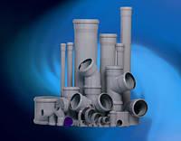 Трубы ПВХ для внутренней канализации 110х2,2х3000