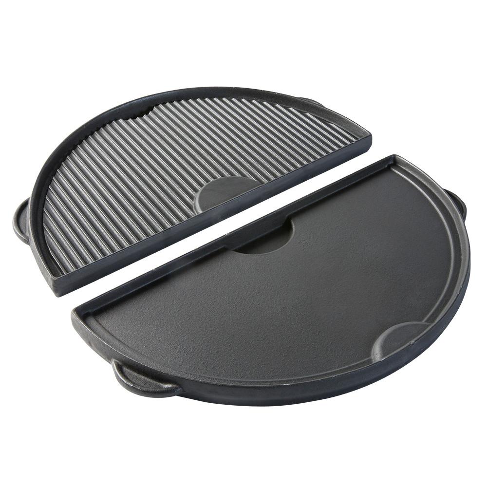 Полукруглая чугунная плита