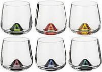 Стаканы для виски 6шт. Bohemia Islands Color 25267-4725-310 в Днепре