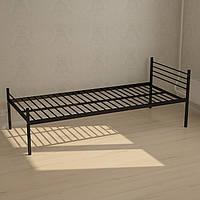 Кровать одноместная металлическая
