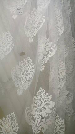 Тюль Корона Белая, 3 метра, фото 2