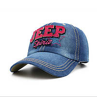 Кепка джинсовая Jeep.