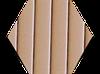 Пробковый компенсатор (порожек), 7 и 10 мм, RG-105 Бежевый