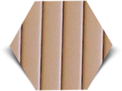 Пробковый компенсатор (порожек), 7 и 10 мм, RG-105 Бежевый, фото 1