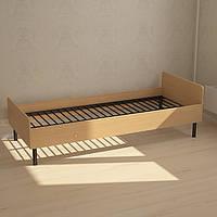 Кровать односпальная с металлическим основанием
