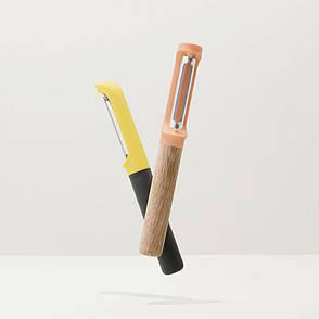 Овощечистка LEO с вертикальным лезвием, пластиковая ручка, фото 2