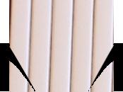 Пробковый компенсатор (порожек) RG-106 Белый