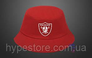 Панама, кепка Raiders (красная), Реплика
