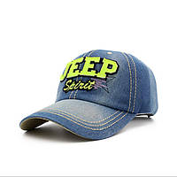 Джинсовая  кепка Jeep.