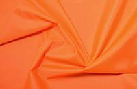 Оранжевая плащевка Оксфорд плотность 110 г/м2, тентовая палаточная ткань