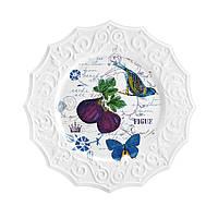 Салатная тарелка Antique Contriside, диам. 21,6 см