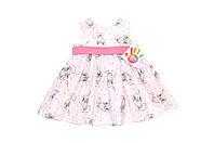 Платье «Кролики» розовый Состав: Хлопок, фото 1