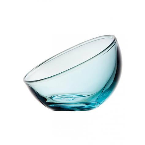 Креманка Bubble голубая, Н макс. 9 см, Н мин. 4 см, 0,13 л, фото 2
