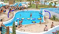 Аквапарк на 10 горок Polin Waterparks