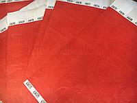 Бумажные контрольные браслеты Tyvek Красный