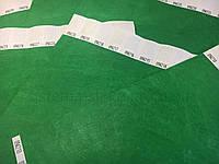 Бумажные контрольные браслеты Tyvek Зеленый