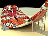 Водные горки королевская кобра Polin Waterparks