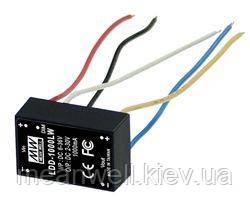 LDD-1000LW  Блок питания Mean Well LED 2 ~ 30VDC, 1000 mA