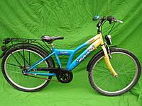 Підлітковий велосипед Mustang r на планетарці sram 3, колеса 24
