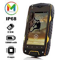 Защищенный противоударный смартфон Jeep Z6 (IP68) 12000 mAh